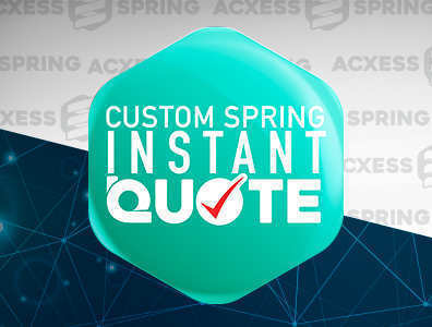 custom spring instant quote logo