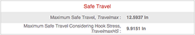 safe travel section
