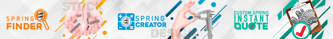 spring creator, instant spring quote, and spring finder logos