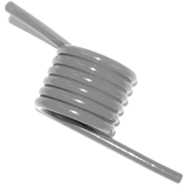 stock music wire torsion springs