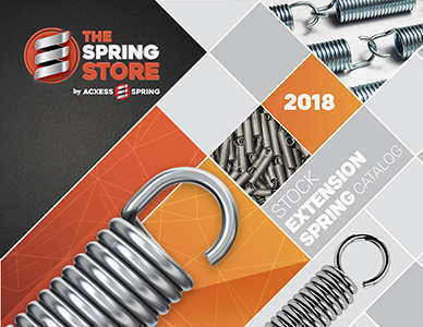 stock tension springs catalogue cover