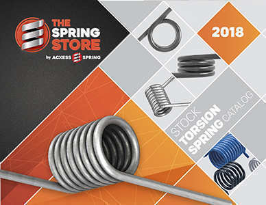 torsional springs catalogue cover